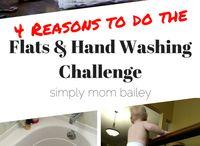 Flats & Hand washing Challenge
