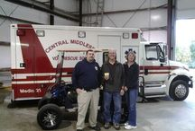 Central Middlesex Vol Rescue Squad 2014 Golf Cart Raffle / Another example of our support to the local community