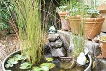 Water in de tuin / water in de tuin