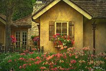 OH...IF ONLY ! / OH ...IF ONLY I HAD ALL THE MONEY IN THE WORLD...WHAT WOULD I GET ...A TEENY TINY LITTLE COTTAGE AND DRESS IT UP LIKE A TEENY TINY DOLL HOUSE...DREAM AWAY, LORI / by Lori Glenn