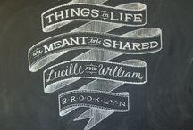 CREATIVITY - chalkboard art