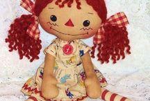 Raggedy Anne Dolls