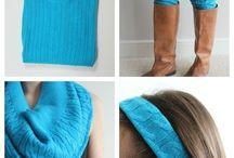 Riciclo vecchia maglia