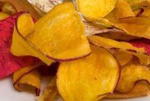 zelininové chipsy