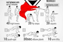 Short sharp workouts / Short body weight workouts trained on the daily