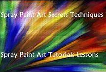 Spray Paint Art Secrets Techniques