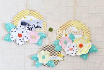 scrapbooking home decor