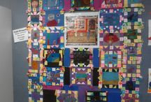 Faith Ringgold - Art projects for kids & K-8 students / Faith Ringgold - Art Elements Taught Patterns Art Activity Emphasis Quilt Designs, Visual Storytelling Student Art Supplies Oil Pastels, Yarn Vocabulary