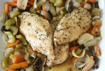 Roasted chicken and veggies!