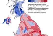 Brexit Maps & Infographics