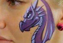 Facepaint - Dragons