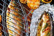 Grillowane ryby / Pyszne ryby z grilla.