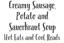 Soups, sauces, Dips