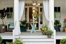 patios, decks and porches / by jessica