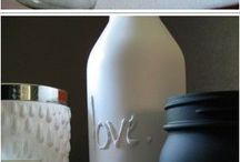 Bottle Crafts / by Debbie Misuraca