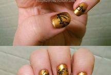 Fantastically Painted Nails / I wish I was this artistic when it comes to nail polish. Oh well at least this will give me some inspiration!