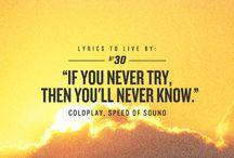 lyrics / by Mary-Kate White