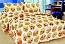 Emoji bed sets