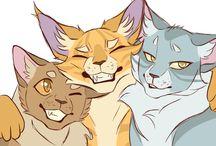 коты воители арт