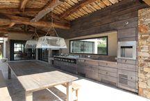 #Mobilier & #Décoration d'extérieur / #Mobilier et décoration d'extérieur réalisés par la menuiserie Rafflin / #Furniture and outdoor decoration made by Rafflin carpentry