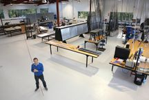 Our Workshop / Images of our premises and our people at work.