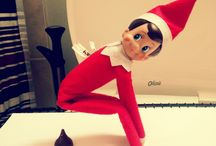 Elf on the shelf ideas / by Amber Gailey