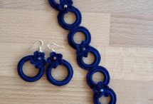 winter knitted jewellery