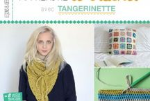 Mon Livre ❤ My Book / Livre Apprendre le crochet avec Tangerinette