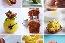 Mini delights, Canapes etc / Finger foods