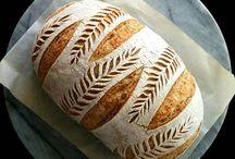 Bread scoring patterns