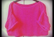 my knitting creations