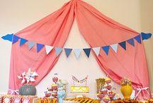 Anniversaire Samichou  / Un thème cirque pour les un an de mon bébé