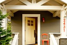 exterior house / by Kate Hillers