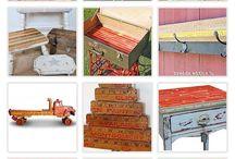 Vintage yardstick ideas