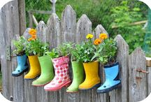 gardening and outside decor / by Joyce Cardwell