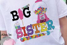 big sister candy shirt