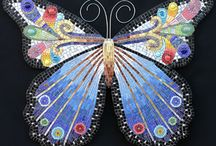 Vlinders mozaïek