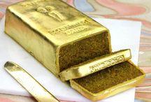 24 Carrot' Gold Bar Cake