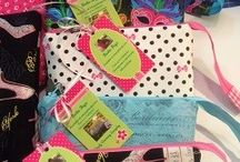 Bunkie Bags / The amazing Bunkie Bags from Simply Charming Everyday.  Including her MISTI Zip Pouches, Accessory Bags and other greatness that comes out of her sewing room.