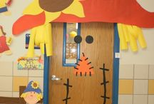Decorating My Classroom Door / Cute ways to decorate my classroom door! / by Amber Rausch