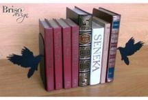 Podpórki do książek (bookend) / Ciekawa ozdoba która sprawi ze twoje książki przestaną spadać z półek