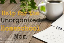 Homeschool Organization / Great room ideas and organizational tips for homeschoolers / by Misty @ Joy in the Journey