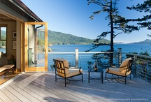Deck, Dock, Porch & Patio / What better way to enjoy nature and the fresh air than by lounging on one of  these cabin outdoor living spaces? / by Cabin Life magazine