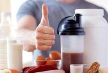 Dicas de Dieta / Dicas de dieta para ganha massa muscular e emagrecer.