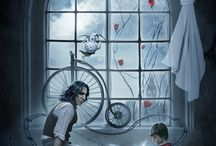 Harry and Severus father and son