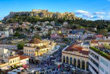 Η Αθήνα και οι άνθρωποί της στο χώρο και στο χρόνο - Athens and it's people in space and time.