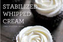 Dairy / Stabilised whipped cream