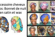 accessoire cheveux afro