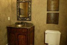 Bathrooms / Powder rooms and full baths