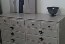 Hand painted chest of drawers / Hand painted chest of drawers